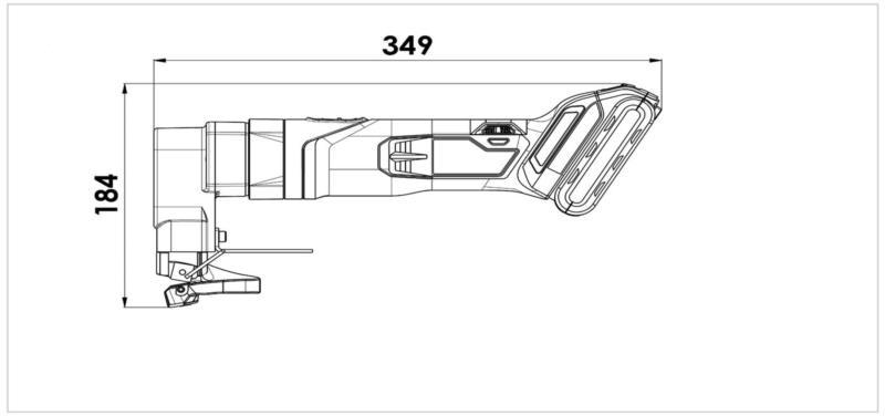Cisaille TruTool S 250 18V Batterie Li-ion TRUMPF - 2081679