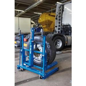Achat chariots porte roues hydraulique - Chariot porte roue tracteur ...