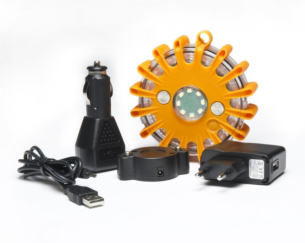 Led Rechargeable OrangeAvec De Sécurité Aimant Lampe 0ZwXOPnN8k