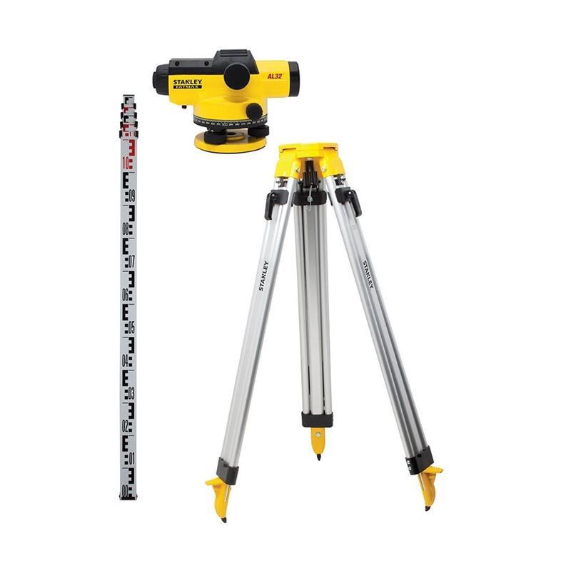 6179a62cbae8f9 Kit Niveau Optique Automatique AL32 STANLEY FATMAX   1-77245 Pas Cher